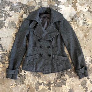 Topshop Wool Pea Coat